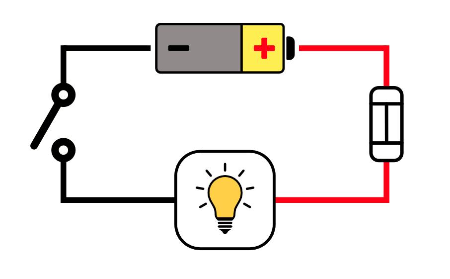 Basic circuit diagram for camper van lights