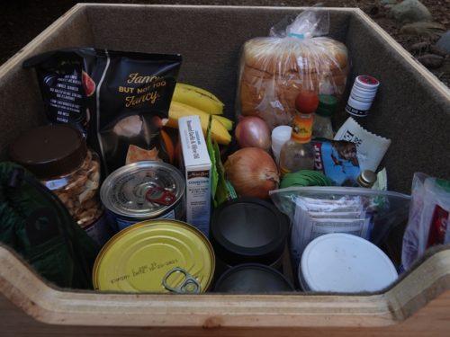 food pantry storage box