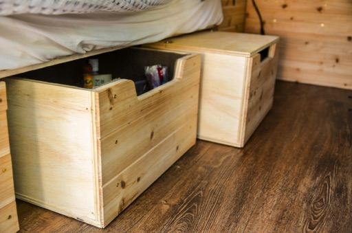 under bed kitchen storage boxes