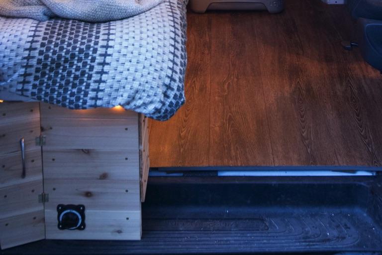 van vinyl flooring