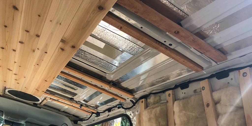 framework for van ceiling