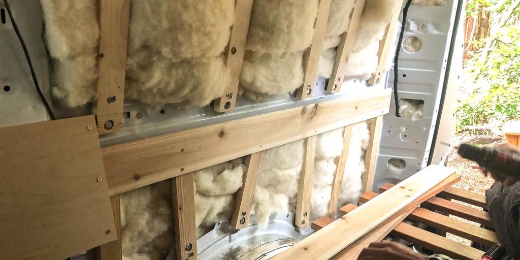 Havlock Wool insulation in walls