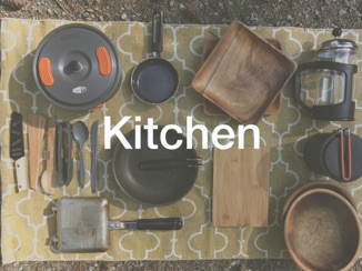 kitchen utensils (pots and plates, etc.)