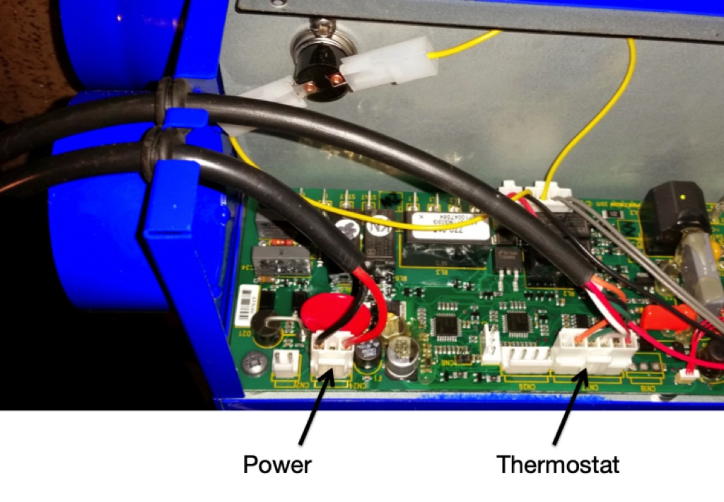 Propex HS2000 heater insides
