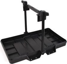 black battery tray