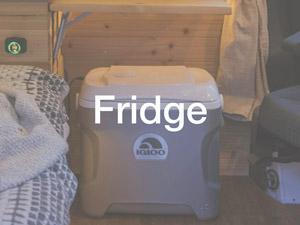 Igloo small electric fridge