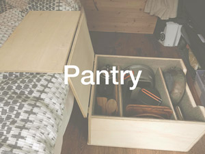Food and kitchen pantry box