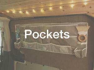 Side door pocket storage