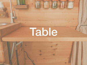 Small pop-up table