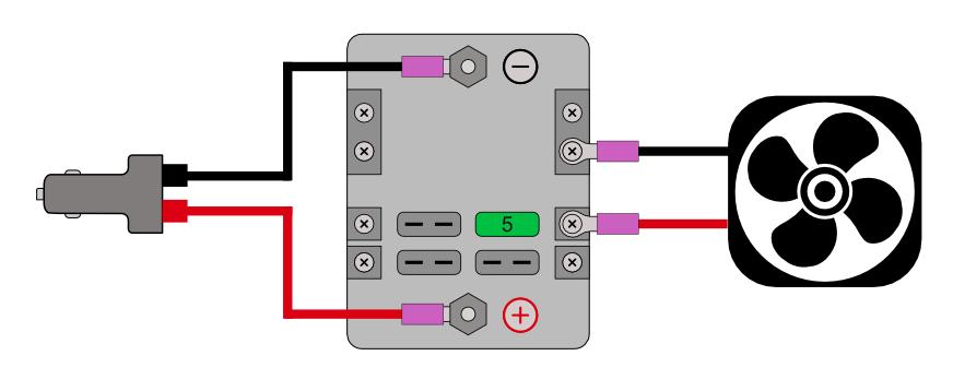 Electrical Tester for camper van fan