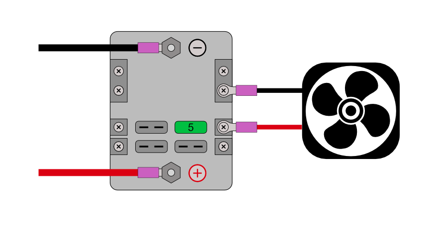Fuse Block Wired